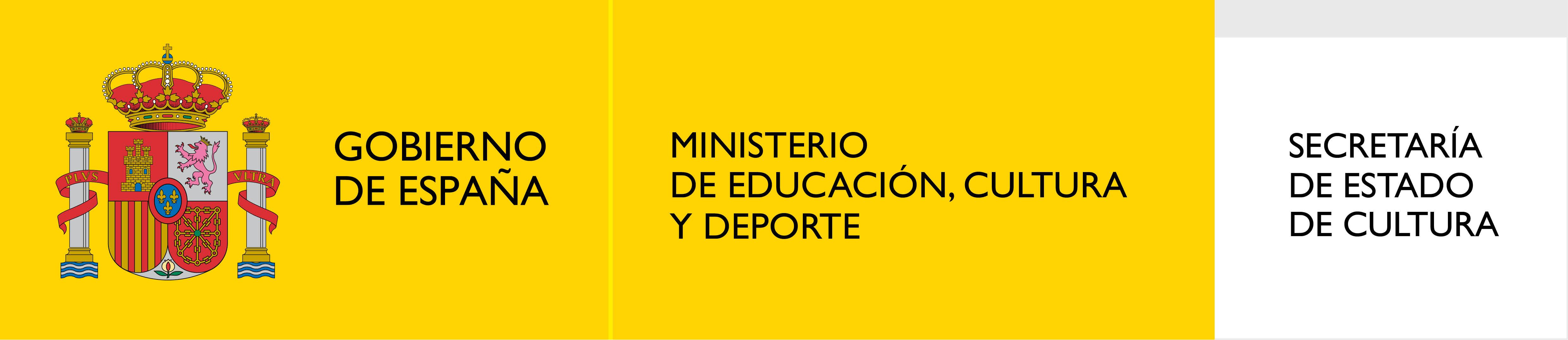 Actividad patrocinada por el Ministerio de Educación, Cultura y Deporte