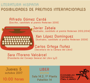 Jornada en LIBER: Literatura hispana: posibilidades de premios internacionales