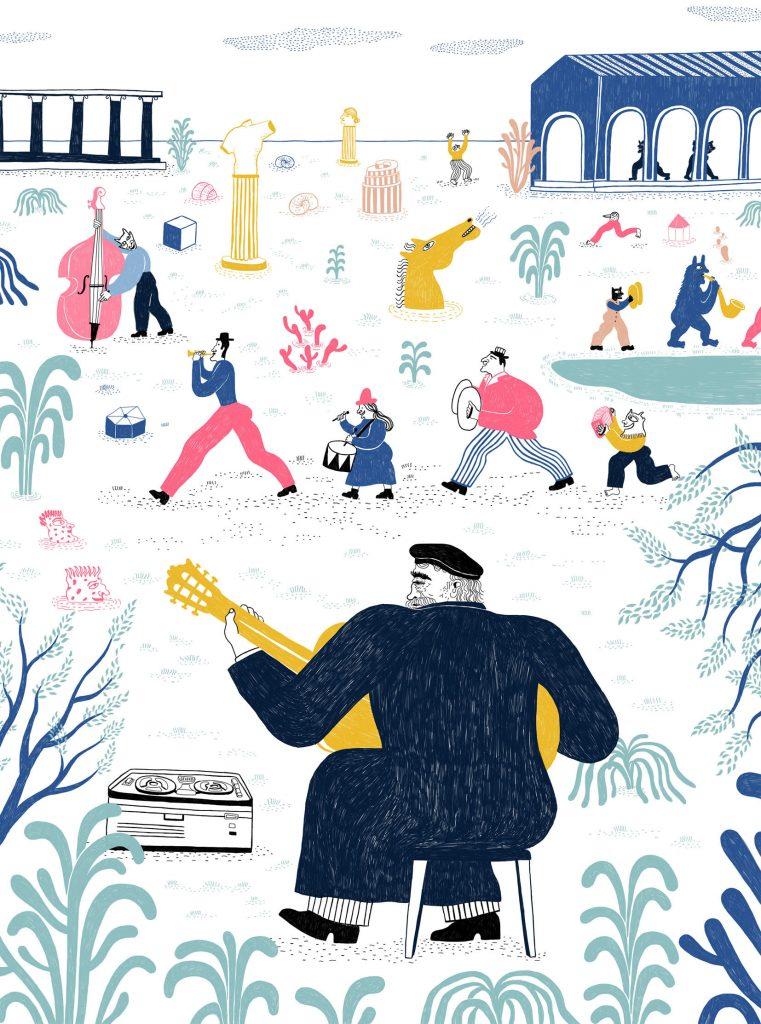 Ilustración de Bea Lozano